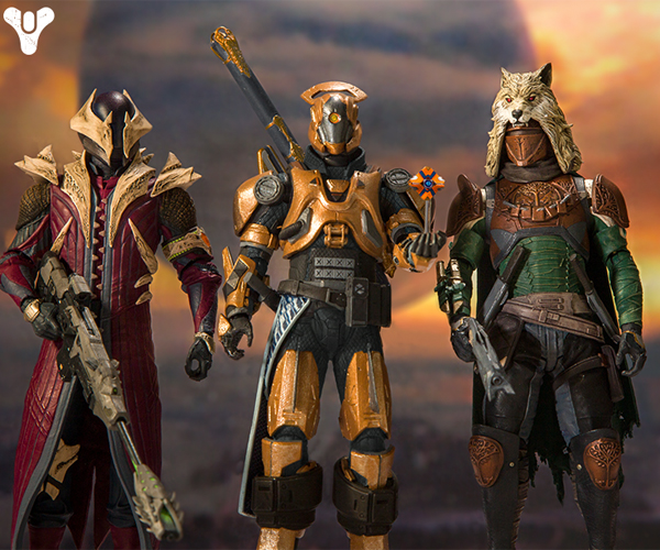 McFarlane Toys Destiny Action Figures