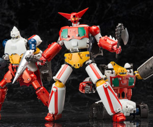 FREEing Dynamic Change R Getter Robo Action Figure Set