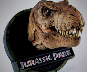 Chronicle Collectibles Jurassic Park Female T-Rex 1/5 Scale Bust