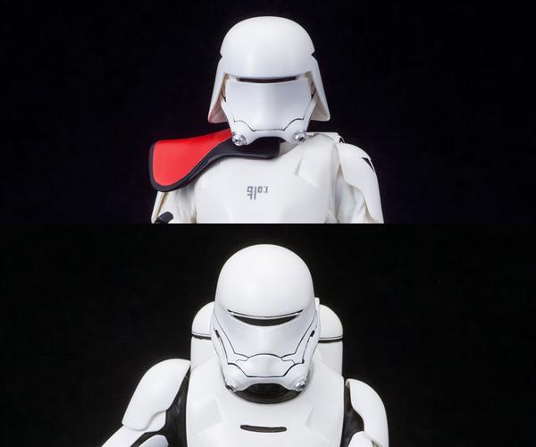 Kotobukiya First Order Snowtrooper & Flametrooper ARTFX+ Statues