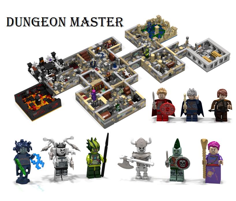 LEGO Dungeon Master Concept