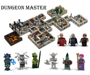 LEGO Dungeon Master Concept