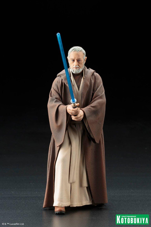 Kotobukiya Star Wars A New Hope Obi-Wan Kenobi ARTFX+ Statue