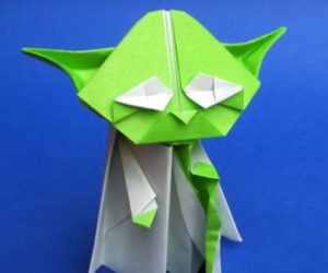 Learn to Make an Origami Yoda