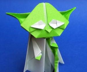 Learn to Make an Origami Yoda