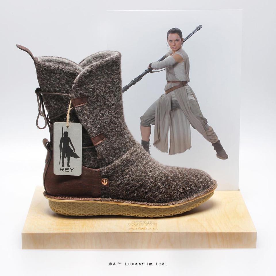 Po-Zu Star Wars FW 2017 Official Replica Footwear
