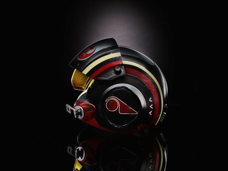 Star Wars Black Series Poe Dameron Helmet Replica