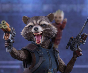 Hot Toys GotG Vol. 2 Rocket Raccoon 1/6 Scale Action Figure