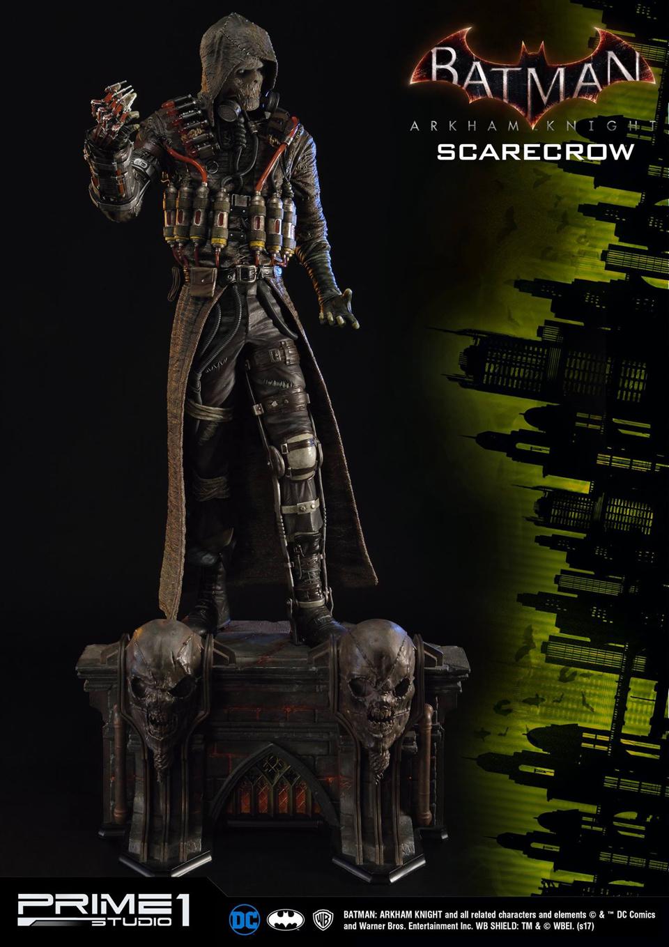 Prime 1 Batman: Arkham Knight Scarecrow Statue