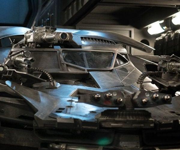 Justice League's Batmobile Teased