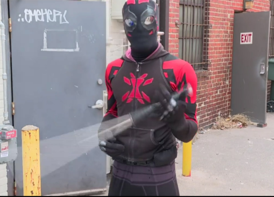 Real-Life Superhero Protects The Streets of Norfolk, Virginia