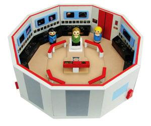 Star Trek: TOS Pin Mate Enterprise Bridge Playset
