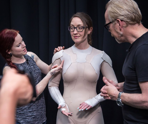 Tested Checks out Weta's Ghost in the Shell Props