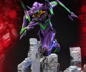 Prime 1 Neon Genesis Evangelion EVA Test Type-01 Diorama