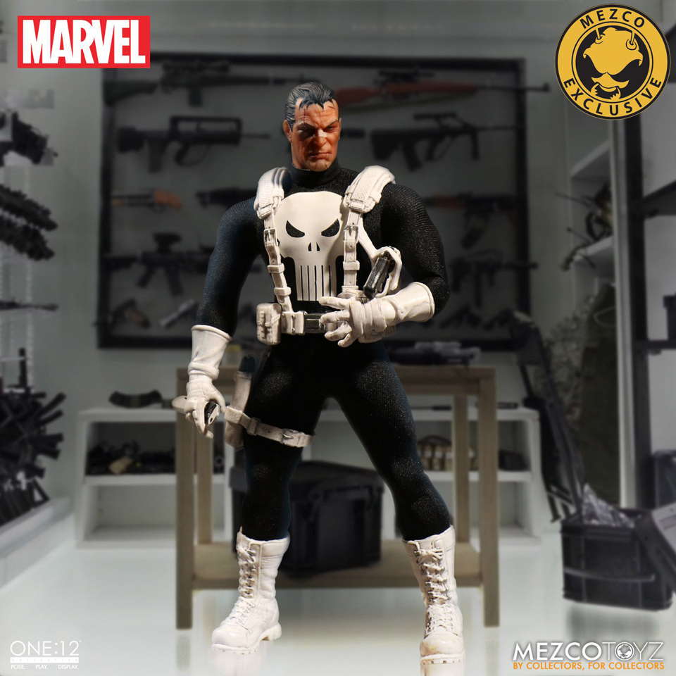 Mezco Toyz One:12 Collective Classic Punisher Action Figure