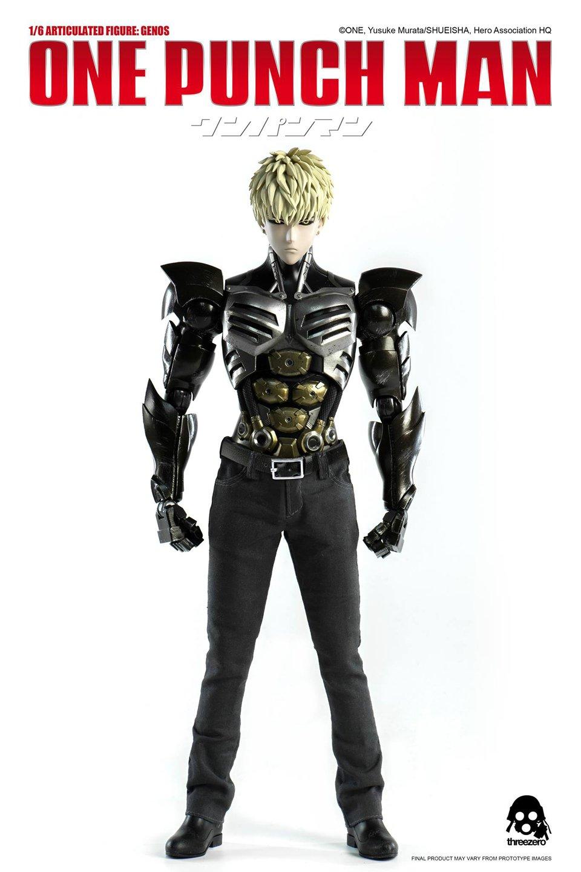 Threezero One Punch Man Genos 1/6 Scale Action Figure