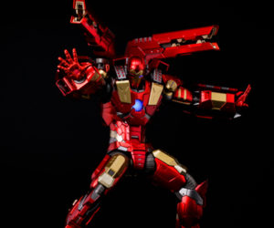 Sentinel Re: Edit 11 Modular Iron Man Action Figure