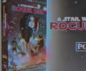 Rogue One: A Star Wars Story on VHS