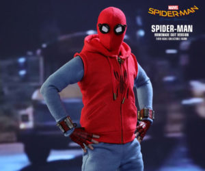 Hot Toys Spider-Man: Homecoming Homemade Suit Action Figure