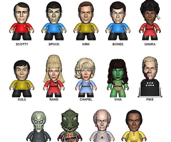 Star Trek The Original Series Titans Blind Box Figures