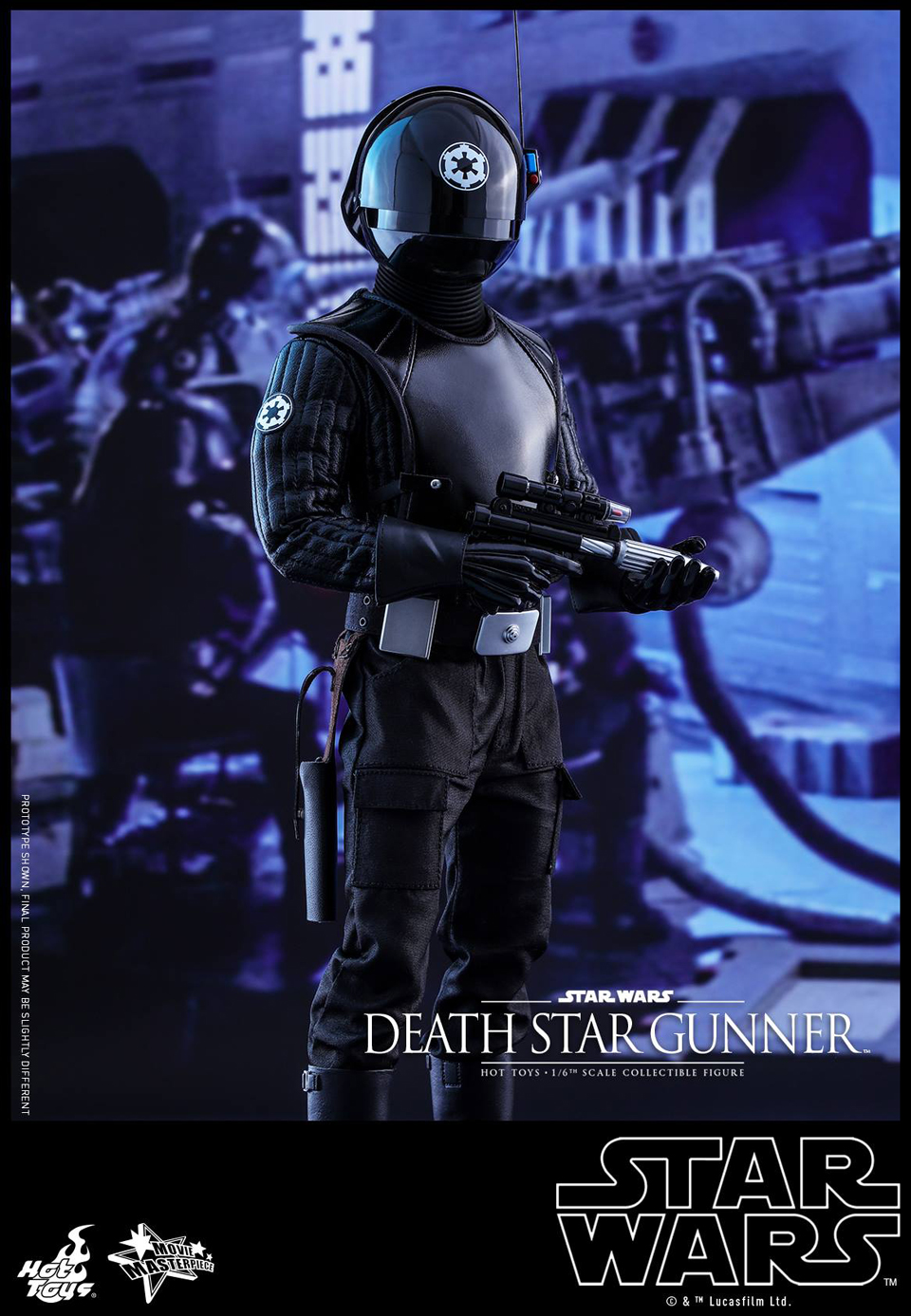 Hot Toys Star Wars Death Star Gunner 1/6 Scale Action Figure