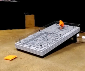 Hyperdyne Labs Death Star Trench Run Cornhole Game