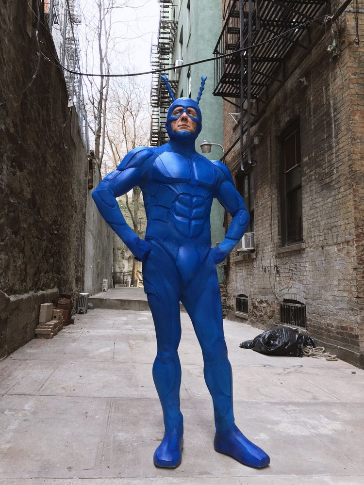 The Tick Gets a New Costume