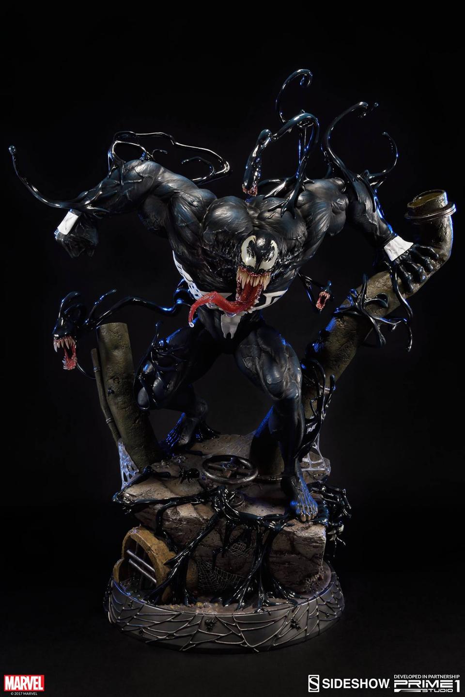 Prime 1 x Sideshow Venom: Dark Origin Statue