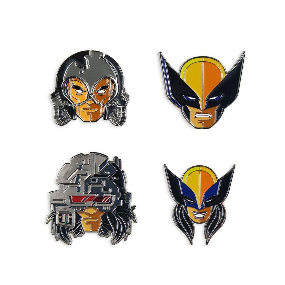 Mondo Wolverine Enamel Pin Set
