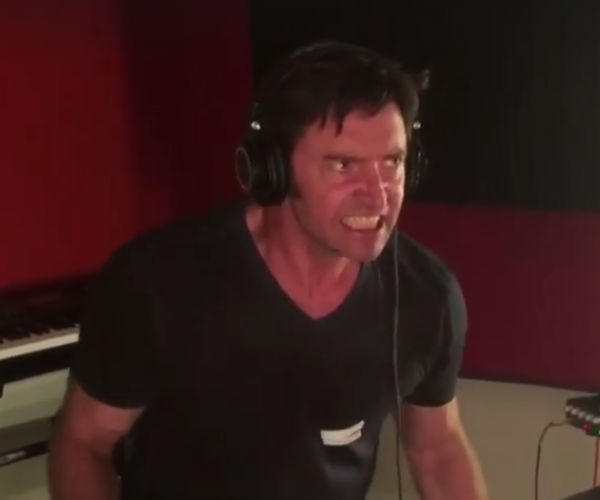 Watch Hugh Jackman Record Logan's Grunts