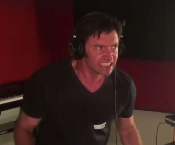 Watch Hugh Jackman Record Logan's Grunts