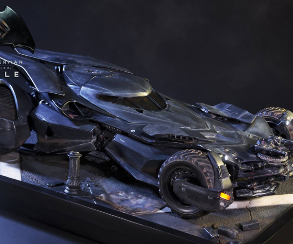 Prime 1 BvS Batmobile 1/10 Scale Diorama
