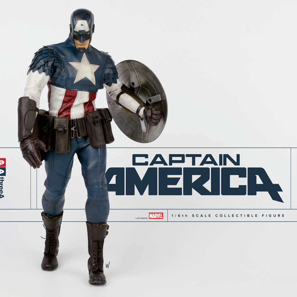 3A Toys Captain America 1/6 Scale Action Figure