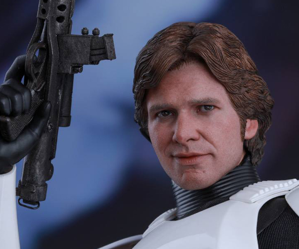 Hot Toys Han Solo Stormtrooper Disguise 1/6 Scale Action Figure
