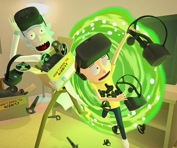 Rick and Morty Getting VR Game on 4/20