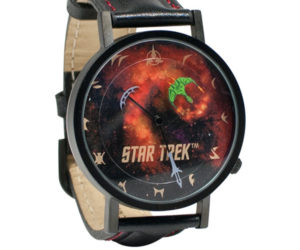 Star Trek Watches Tell Time with Spaceships