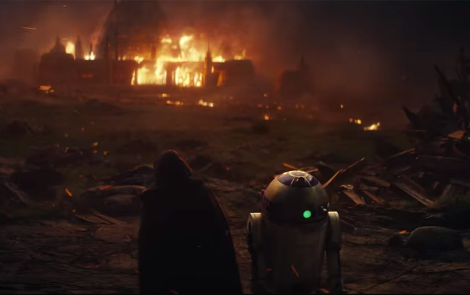 Star Wars: The Last Jedi Gets Its First Teaser Trailer