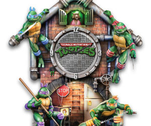 Teenage Mutant Ninja Turtles Lighted Clock