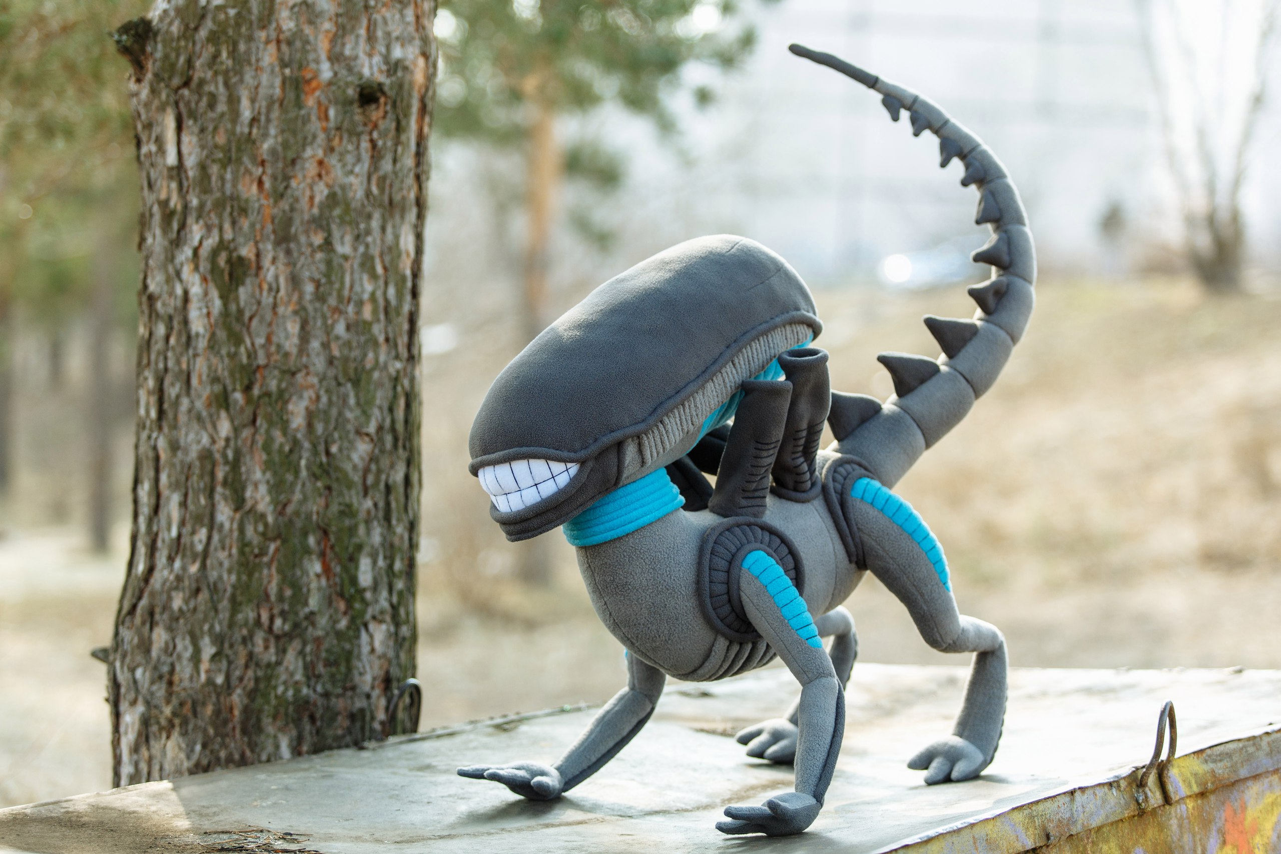 Alien Xenomorph Plush Is the Most Adorable Xenomorph