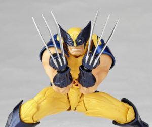 Kaiyodo Revoltech Amazing Yamaguchi Wolverine 1/12 Scale Action Figure