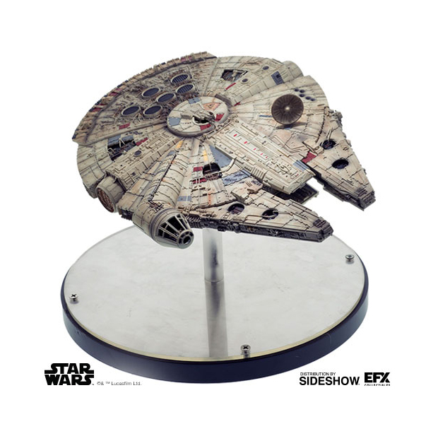 EFX Collectibles Star Wars Millennium Falcon 1/100 Scale Diecast Replica