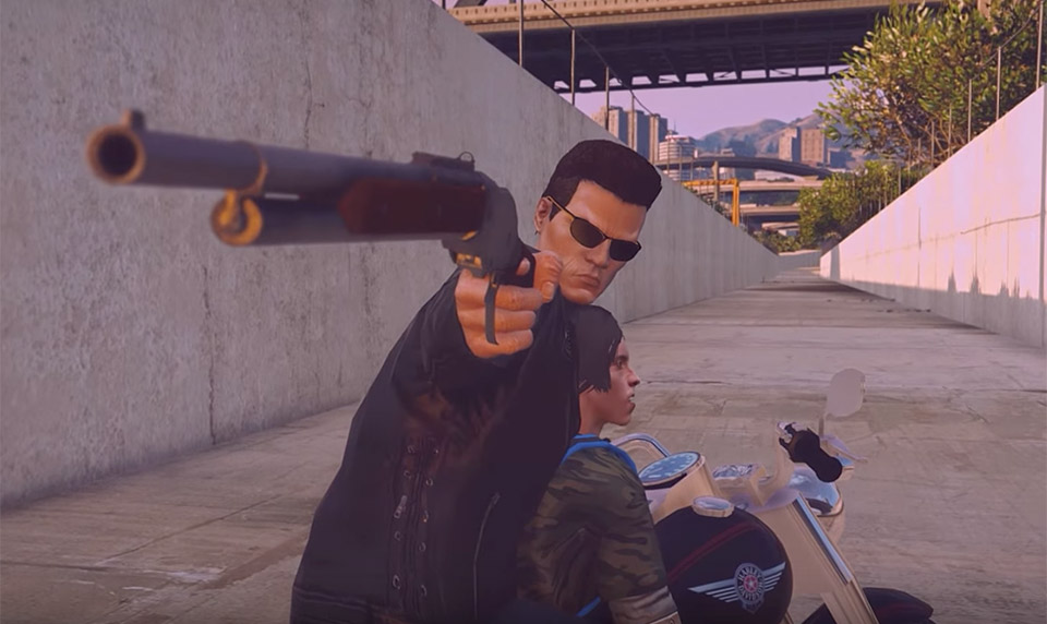 Terminator 2 Recreated in GTA V