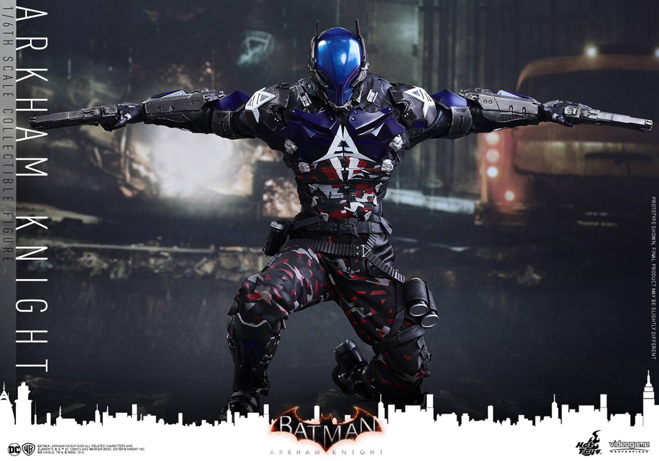 Hot Toys Batman: Arkham Knight 1/6 Scale Action Figure