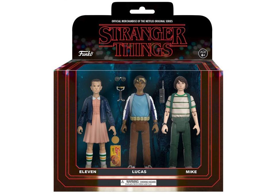 Funko Stranger Things Action Figure 3-Packs