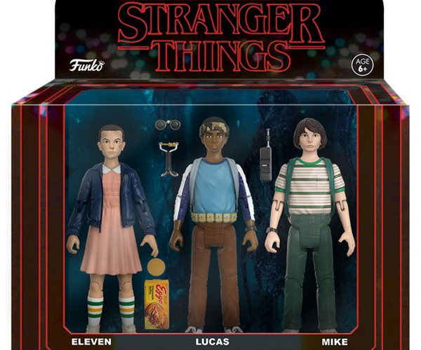 Funko Stranger Things Action Figure 3-Packs