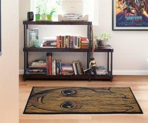 Baby Groot Area Rug: Guardians of the Floor
