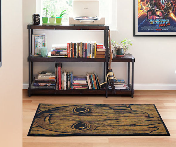 Baby Groot Area Rug: Guardians of the Floor