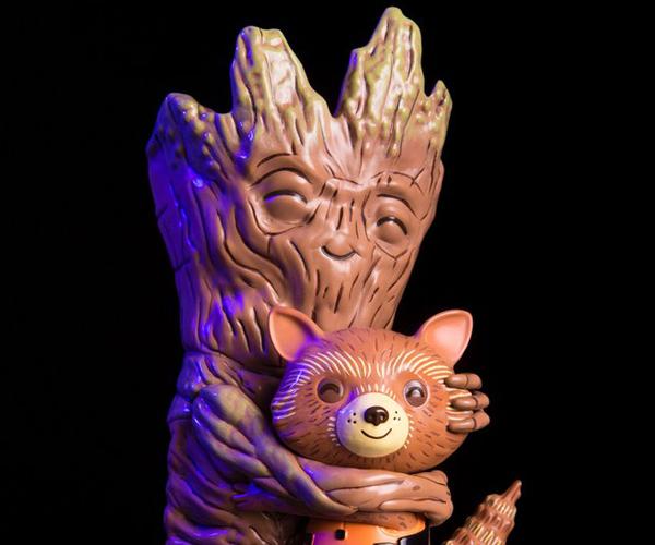 Mondo Rocket & Groot Treehugger Vinyl Figure