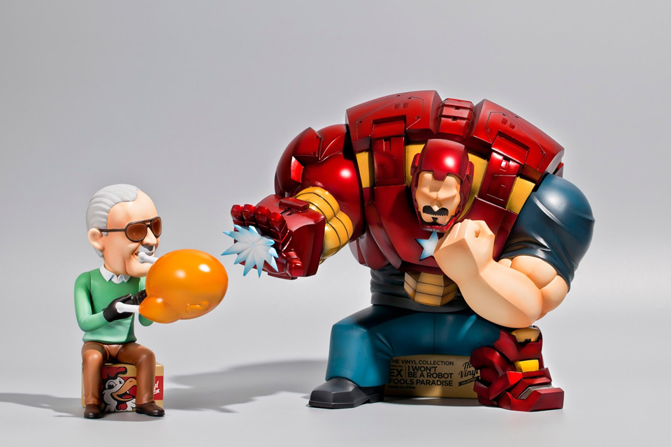 Fools Paradise Iron Man & Stan Lee 1/6 Scale Figures