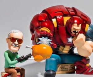 Fools Paradise Iron Man & Stan Lee 1/6 Scale Figures